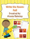 Write the Room: Fall