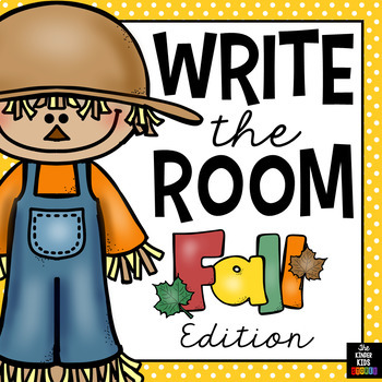 Fall Words - Write the Room