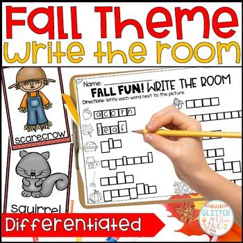 Write the Room-Fall Fun Themed!