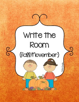 Write the Room-Fall/November/Thanksgiving