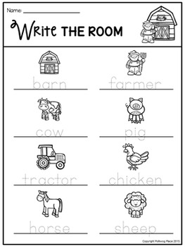 Write the Room - Farm