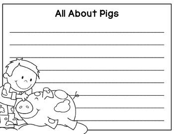 Write the Room: Farm Animals