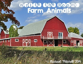 Write the Room: Farm Animals