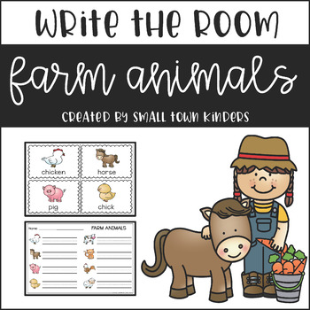 Write the Room - Farm Animals