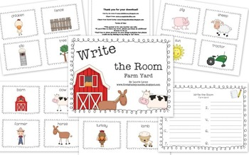 Write the Room Farm Yard