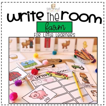 Write the Room: Farm for Little Learners