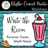 Write the Room Favorite Treats Half Note
