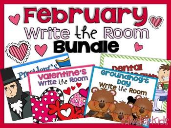 Write the Room {February Bundle}