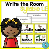 Write the Room Final Syllable LE
