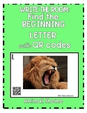 Write the Room: Find the Beginning Letter with QR Codes