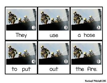 Write the Room: Fire Fighters