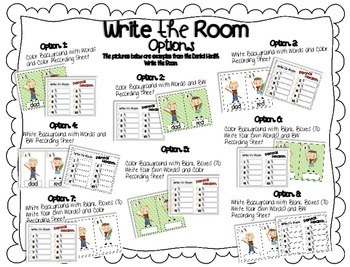 Write the Room {Fire Safety}