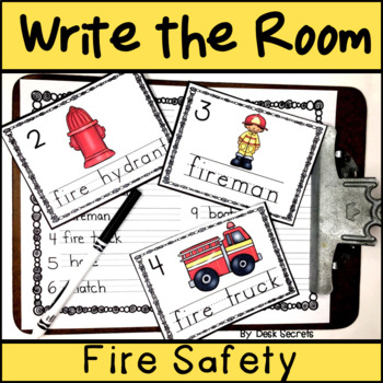 Write the Room - Fire Safety