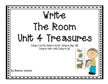 Write the Room-First Grade Treasures Unit 4