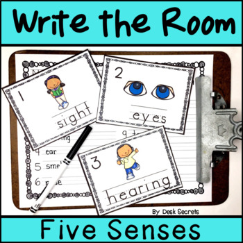 Write the Room - Five Senses