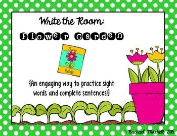 Write the Room: Flower Garden