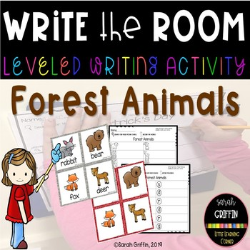 Write the Room Forest Animals