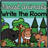 Write the Room ♥ Forest Animals ♥ Cross Curricular ♥ Center