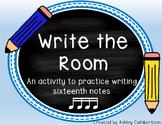 Write the Room:  Four Sixteenth Notes (Takatiki or Tika tika)