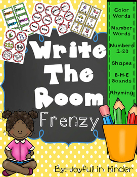 Write the Room Frenzy-Basics