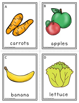 Write the Room Fruits and Vegetables