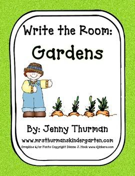 Write the Room: Gardens