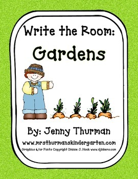 Write the Room: Gardens