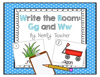 Write the Room - Gg and Ww