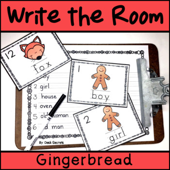 Write the Room - Gingerbread