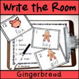 Write the Room Gingerbread Man