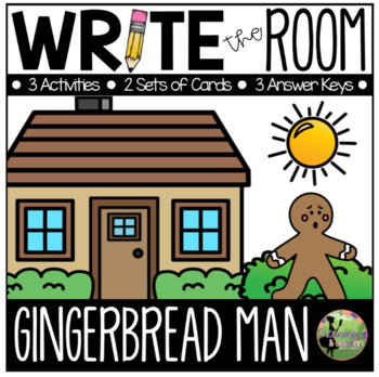 Write the Room: Gingerbread Man Edition (K-2)