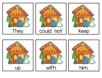 Write the Room: The Gingerbread Man
