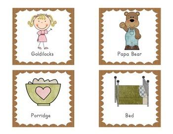 Write the Room - Goldilocks and the three bears