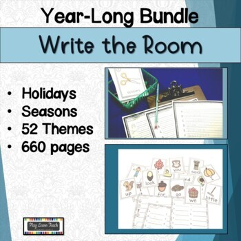 Write the Room Year Long Mega Bundle Beginning of the Year Activities
