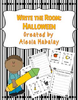 Write the Room: Halloween