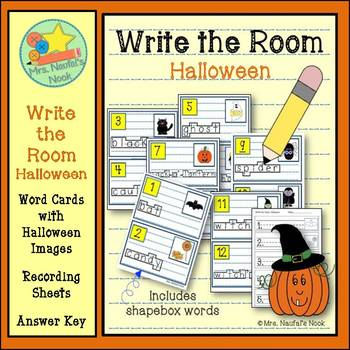 Write the Room Halloween