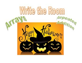 Write the Room: Halloween Arrays