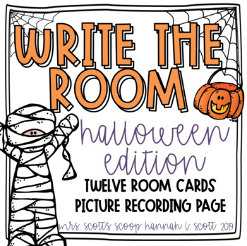Write the Room (Halloween Edition)