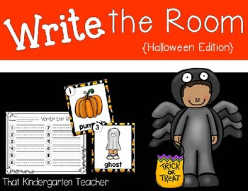 Write the Room {Halloween Edition}