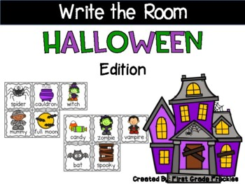 Write the Room Halloween Edition