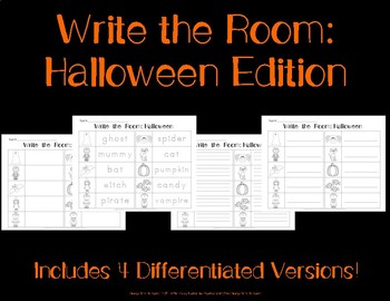 Write the Room: Halloween Edition