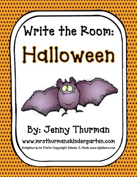 Write the Room: Halloween Freebie