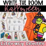 Write the Room Halloween   Literacy Centers