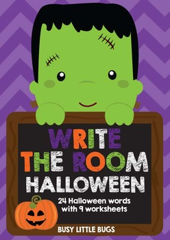 Write the Room - Halloween Theme