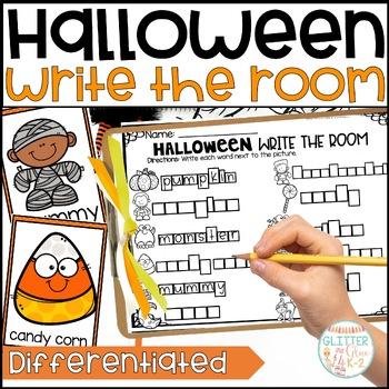 Write the Room- Halloween Themed!