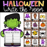 Halloween Write the Room Kindergarten Activity