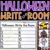 Halloween Write the Room Kindergarten