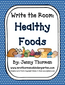 Write the Room: Healthy Foods