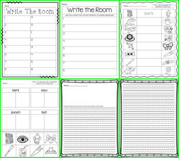 Write the Room - Homophones & Homonyms BUNDLE