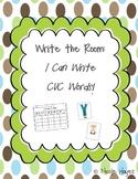 "Write the Room: ""I can Write CVC Words!"""